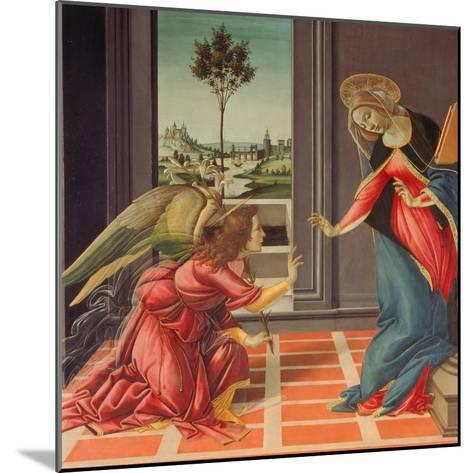 Annunciation Mary of Cestello-Sandro Botticelli-Mounted Giclee Print