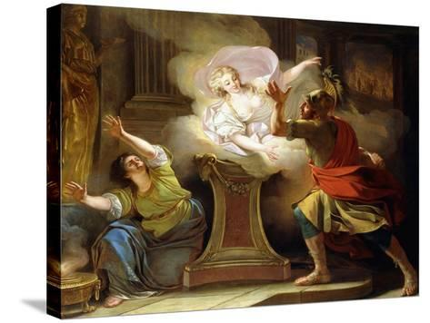 Aeneas Pursuing Helen in the Temple of Vesta-Pierre Puvis de Chavannes-Stretched Canvas Print