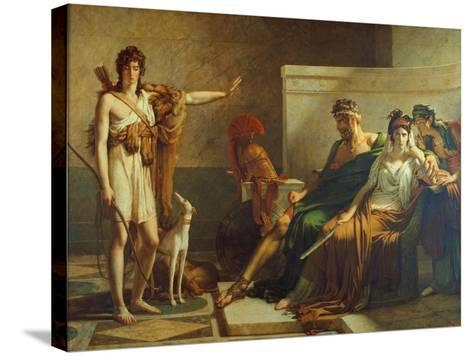 Phaedra and Hippolyt, 1802-Pierre Subleyras-Stretched Canvas Print