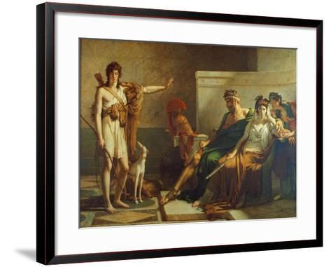 Phaedra and Hippolyt, 1802-Pierre Subleyras-Framed Art Print