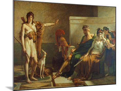 Phaedra and Hippolyt, 1802-Pierre Subleyras-Mounted Giclee Print