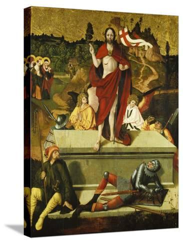Resurrection of Christ-Schweizer Meister-Stretched Canvas Print