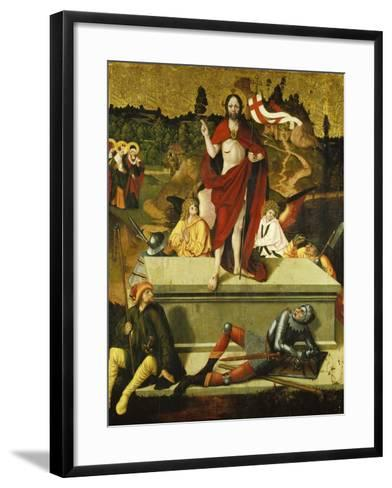 Resurrection of Christ-Schweizer Meister-Framed Art Print