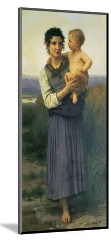 Mother and Child, 1887-William Adolphe Bouguereau-Mounted Giclee Print
