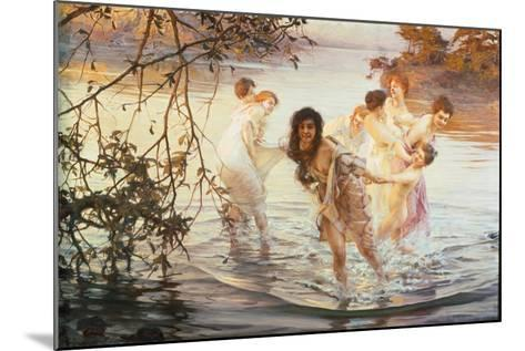 Happy Games, 1899-Paul de Vos-Mounted Giclee Print