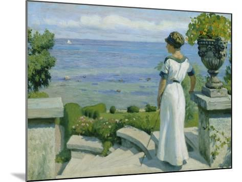 On the Terrace, 1912-Paul Fischer-Mounted Giclee Print