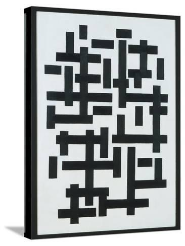 Composition White-Black, 1918-Theo van Doesburg-Stretched Canvas Print