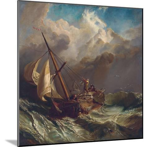 On the Dogger Bank-William Clarkson Stanfield-Mounted Giclee Print