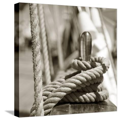 Sail Rope--Stretched Canvas Print