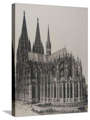 Cologne: Cathedral, 1889- Königlich Preubische Messbildanstalt-Stretched Canvas Print