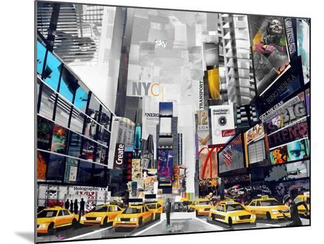 Time Square-James Grey-Mounted Art Print