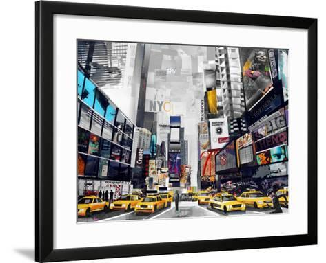 Time Square-James Grey-Framed Art Print