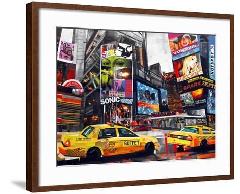 Downtown-James Grey-Framed Art Print