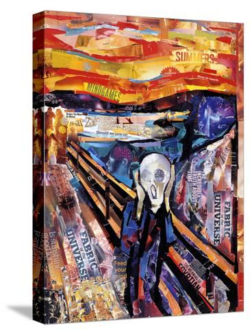 The Scream-James Grey-Stretched Canvas Print