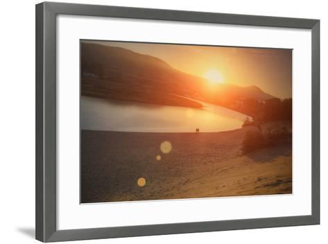 Morning Sun at Salmon Creek, Sonoma Coast California-Vincent James-Framed Art Print