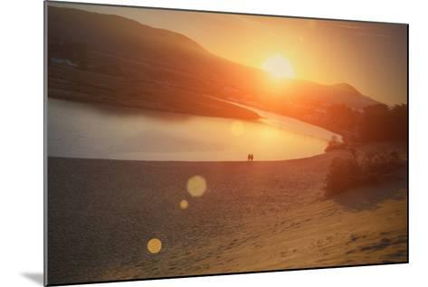 Morning Sun at Salmon Creek, Sonoma Coast California-Vincent James-Mounted Photographic Print