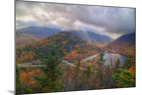 Morning Storm at Echo Lake, White Mountain New Hampshire-Vincent James-Mounted Photographic Print