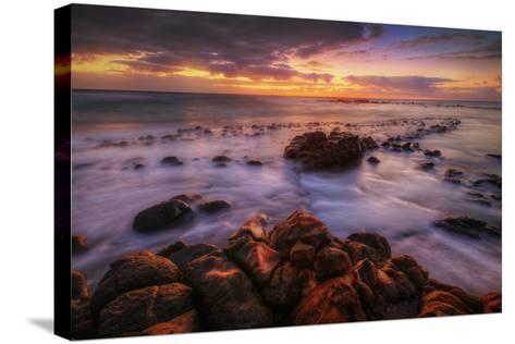 Sunrise at Kapaa, Kauai Hawaii-Vincent James-Stretched Canvas Print
