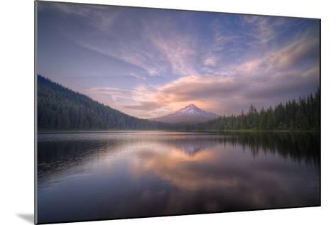 Cloudscape Reflection at Trillium Lake, Oregon-Vincent James-Mounted Photographic Print