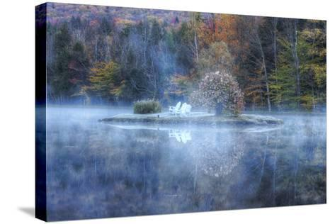 Reflections at Indian Head, New Hampshire-Vincent James-Stretched Canvas Print