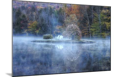 Reflections at Indian Head, New Hampshire-Vincent James-Mounted Photographic Print
