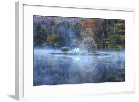Reflections at Indian Head, New Hampshire-Vincent James-Framed Art Print