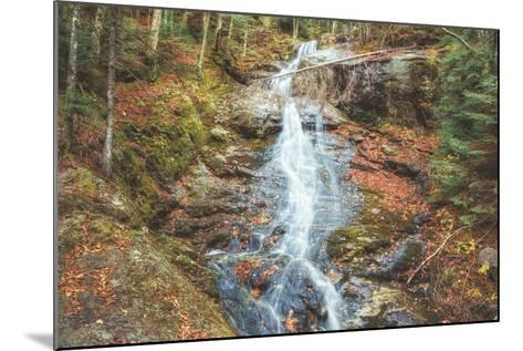 Beaver Creek Cascades in Autumn, New Hampshire-Vincent James-Mounted Photographic Print