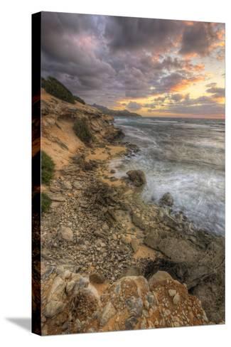 Sunset Drama at Shipwreck Beach, Kauai Hawaii-Vincent James-Stretched Canvas Print