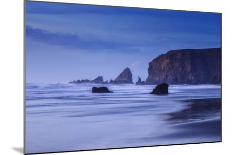 Bluesy Beach, Fort Bragg Mendocino California-Vincent James-Mounted Photographic Print