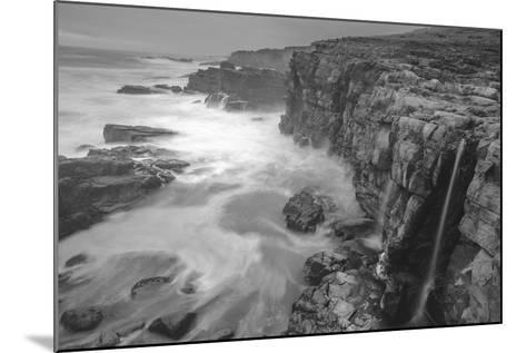 Blustery Sonoma Seascape, California Coast-Vincent James-Mounted Photographic Print