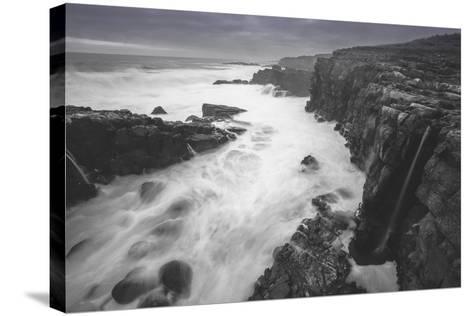 Moody Sonoma Seascape, California Coast-Vincent James-Stretched Canvas Print