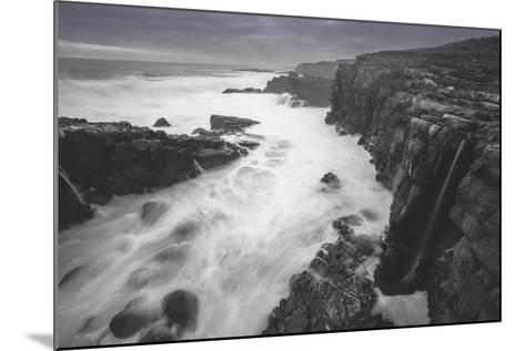 Moody Sonoma Seascape, California Coast-Vincent James-Mounted Photographic Print