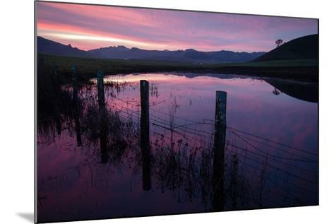 Pre Dawn in the Petaluma Hills, Sonoma County-Vincent James-Mounted Photographic Print