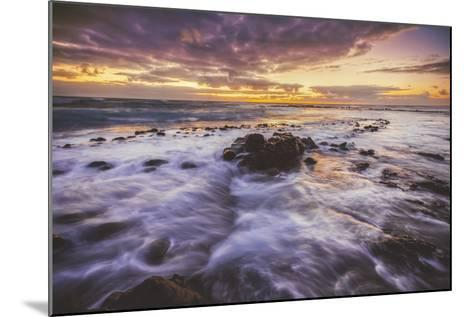 Moody East Kauai Sunrise, Hawaii-Vincent James-Mounted Photographic Print
