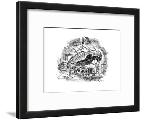 New Yorker Cartoon-Alan Dunn-Framed Art Print