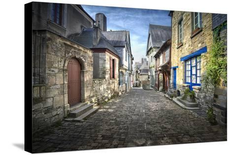 Vitr? in Brittany-Philippe Manguin-Stretched Canvas Print