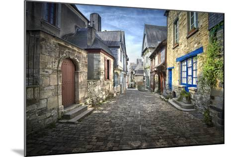 Vitr? in Brittany-Philippe Manguin-Mounted Photographic Print