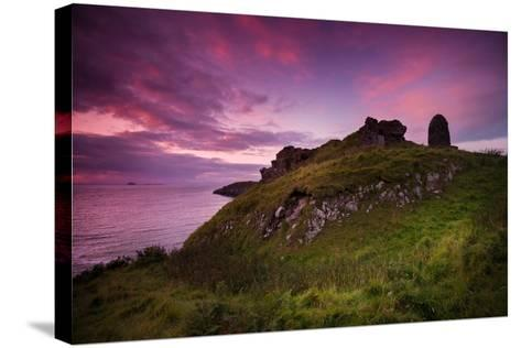 Duntulm Castle-Philippe Sainte-Laudy-Stretched Canvas Print