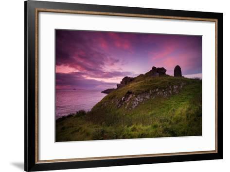 Duntulm Castle-Philippe Sainte-Laudy-Framed Art Print