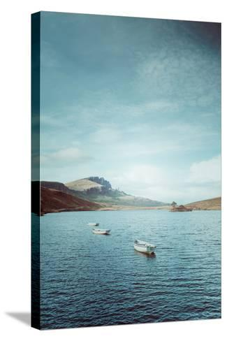 New Blue Day in Scotland-Philippe Sainte-Laudy-Stretched Canvas Print