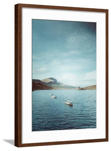 New Blue Day in Scotland-Philippe Sainte-Laudy-Framed Art Print