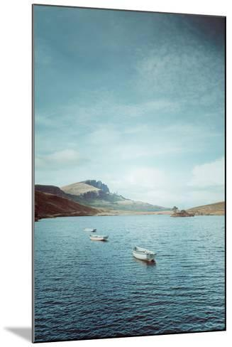 New Blue Day in Scotland-Philippe Sainte-Laudy-Mounted Photographic Print