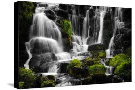 The Sound of Water-Philippe Sainte-Laudy-Stretched Canvas Print