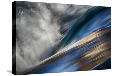 River Wave-Ursula Abresch-Stretched Canvas Print
