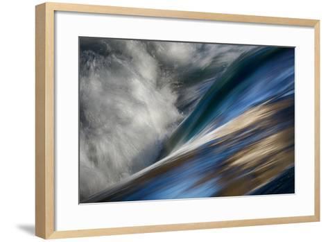 River Wave-Ursula Abresch-Framed Art Print