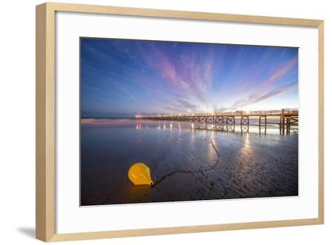 Saint Jean De Monts Sunset-Philippe Manguin-Framed Art Print