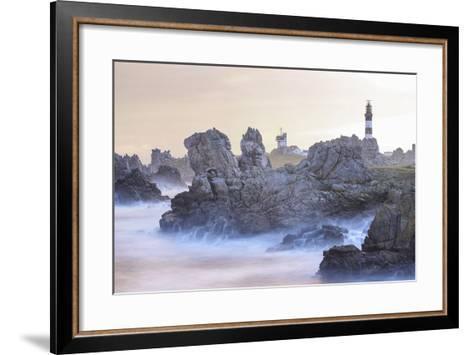 Le Phare Du Creac'h-Philippe Manguin-Framed Art Print