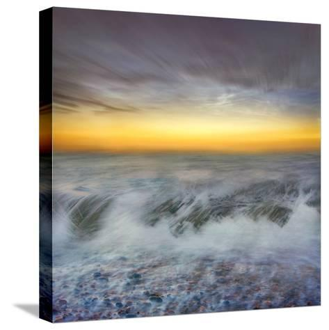 Golden Horizons-Adrian Campfield-Stretched Canvas Print
