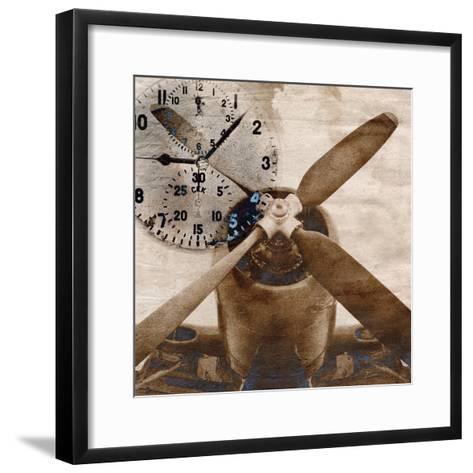 History of Aviation 1-Beau Jakobs-Framed Art Print