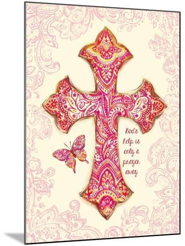 God's Help-Bella Dos Santos-Mounted Premium Giclee Print